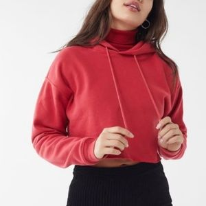 Urban Outfitters Out From Under Cropped Hoodie Med